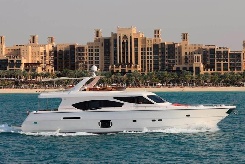 Rent Yacht - Dubai View