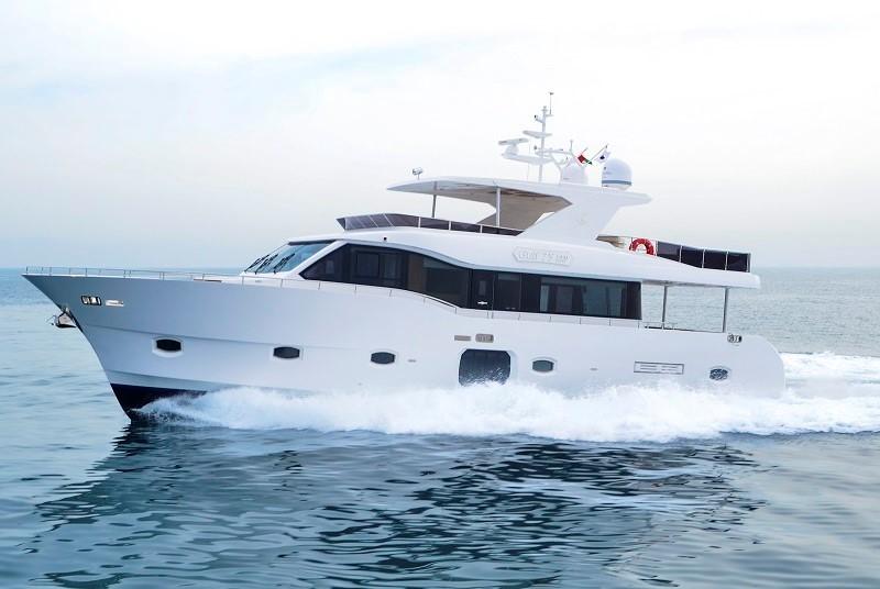 Rent Yacht - Majesty 75ft