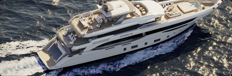Rent Yacht - Diamond 145